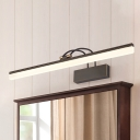 Vintage Wall Sconces Antique Bronze LED Picture Light 8/11/15W 15.35in/20.87in/28.74in Long Reversible Linear Vanity Light for Gallery Study Room Bathroom