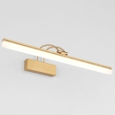 Bright LED Neutral Light Antique Brass Arc Arm Picture Light 8/11/15W Energy Efficient LED Linear Vanity Light Bathroom Gallery Art Work Lamp