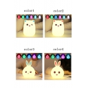 Lovely Rabbit LED Multi Color Tap Control Silicone Nightlight