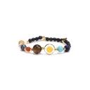 Stylish Planet Star Bead Bracelet for Girl