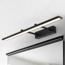Bathroom Wall Lights 9W-16W LED Neutral Acrylic Shade Linear Vanity Lights Black Finish Gallery Living Room Picture Lights (15.35