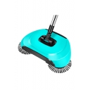 Hand Push Automatic Sweeper Stainless Steel Spin Broom Mop with Adjustable Handle