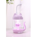 Cute USB Powered Cat Shaped Fish Embellished Mist Humidifiers