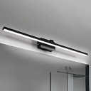 Bedside Bathroom Mirror Wall Lights 8W-16W Black/White Aluminum LED Slim Linear Vanity Light LED Warm White Neutral 5 Sizes Available