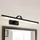 Black and Gold LED Linear Vanity Light 8/11/14W 3000/4000/6000K Acrylic LED Wall Lights for Bathroom Mirror 3 Sizes Available
