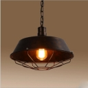 Industrial Pendant Light in Barn Style with 10.24