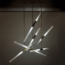 Rotative Tube LED Chandelier 39.37