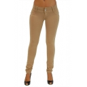 Women's Stretch Cotton,Butt Lift,Skinny Leg Pants