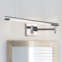 Extension Type Chrome LED Vanity Light 20.08