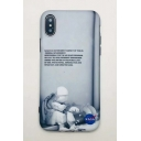 Letter Astronaut Print iPhone Design Mobile Phone Case