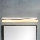 Contemporary Ambient LED Warm White Acrylic Wall Lighting 15.75