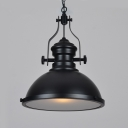 Industrial Pendant Light with 16