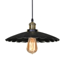 Single Round Edison Retro Pendant for Down Lighting