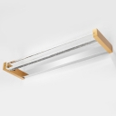 Gold Led Linear Wall Fixture 15.75