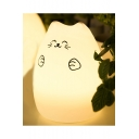 Cute 7 Color Cat Lamp LED Tap Control Night Light