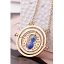 Vintage Hourglass Time Converter Pendant Necklace Gifts