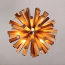 Post Modern Wood Pendant Light 14