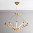Light Adjustable Metal Multi Light Suspension 23.5