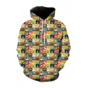 New Trendy 3D Christmas Series Pattern Long Sleeve Sports Casual Hoodie