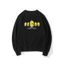Crewneck Long Sleeve Fashion Tik Tok Yellow Social Ducks Sweatshirt