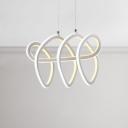 White Acrylic Light Fixture 12.5