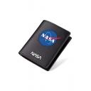 Men's New Stylish NASA Letter Pattern Black Wallet 9.5*11.5cm
