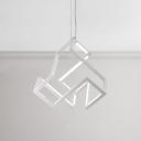 Nordic Style Designer Lighting Restaurant Bar Cafe Pendant Light 60W LED Third Gear 21