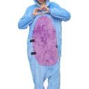 Unisex Fleece Blue Donkey Carnival Costume Onesie Pajamas