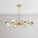 Ultra Modern Multi Light Chandelier 35.5