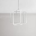 Ultra Thin Multi Light Chandelier Post Modern 80W 18