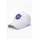 New Fashion Hip Hop Style Space Rocket Pattern Adjustable Baseball Cap