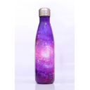 Unique Fashion Ombre Galaxy Printed Stainless Steel Vacuum Cup 500ml