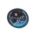 Unique Embroidered Velcro Tape Shoulder Emblem Arm Badge