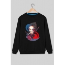LOL Game KAYN Printed Crewneck Long Sleeve Pullover Sweatshirt