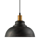 Rust Industrial Retro Pendant Light with Bowl Shape