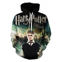 3D Harry Potter Movie Figure Printed Long Sleeve Casual Hoodie