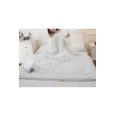 Multifunction Warm Wearable Quilt Sleeves Portable White Lazy Sofa Blanket 1.5*2.0M
