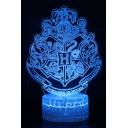 Unique Creative Harry Potter Series Design Remote Control Blue Night Lamp