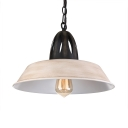1 Light Retro LED Pendant Light in Industrial Style