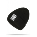 Winter Warm Letter HAVE A TIME Printed Unisex Knit Hat Beanie