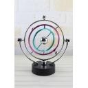 Novelty Kinetic Orbital Newton Electronic Swing Perpetual Balance Blue Celestial Globe Pendulum 25*22*10.5CM