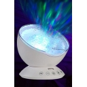 Ocean Wave Night Projection Lamp Multicolor Rotating Remote Control Night Lamp