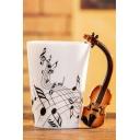 Funny Musical Note Violin Handle Design Milk Coffee Ceramic Mug 12*11.5CM