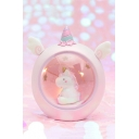 Cute Cartoon Unicorn Embellished Bedside Night Lamp for Gift