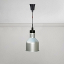 Silver Dome Suspension Light Industrial Stainless Hanging Light for Kitchen Hallway