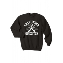 Winter's New Trendy Long Sleeve Round Neck Letter GRYFFINDOR Printed Sweatshirt for Men