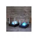 Hot Sale Luminous Newton Cradle Ball Newton Physic Science Pendulum Home Office Ornament 15*15*11.5CM