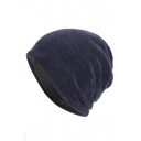 Winter's New Fashion Plain Corduroy Beanie for Couple