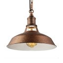 Industrial Rust 1-Lt Barn Pendant in Wrought Iron for Warehouse Farmhouse