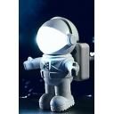 Chic Hot Popular Astronaut Design LED White Night Lamp 3.2*4.5*5.6cm